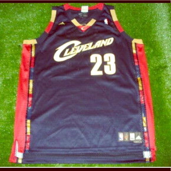 premium selection d51fb 4cab3 Lebron James Cleveland Cavaliers Adidas Jersey NBA